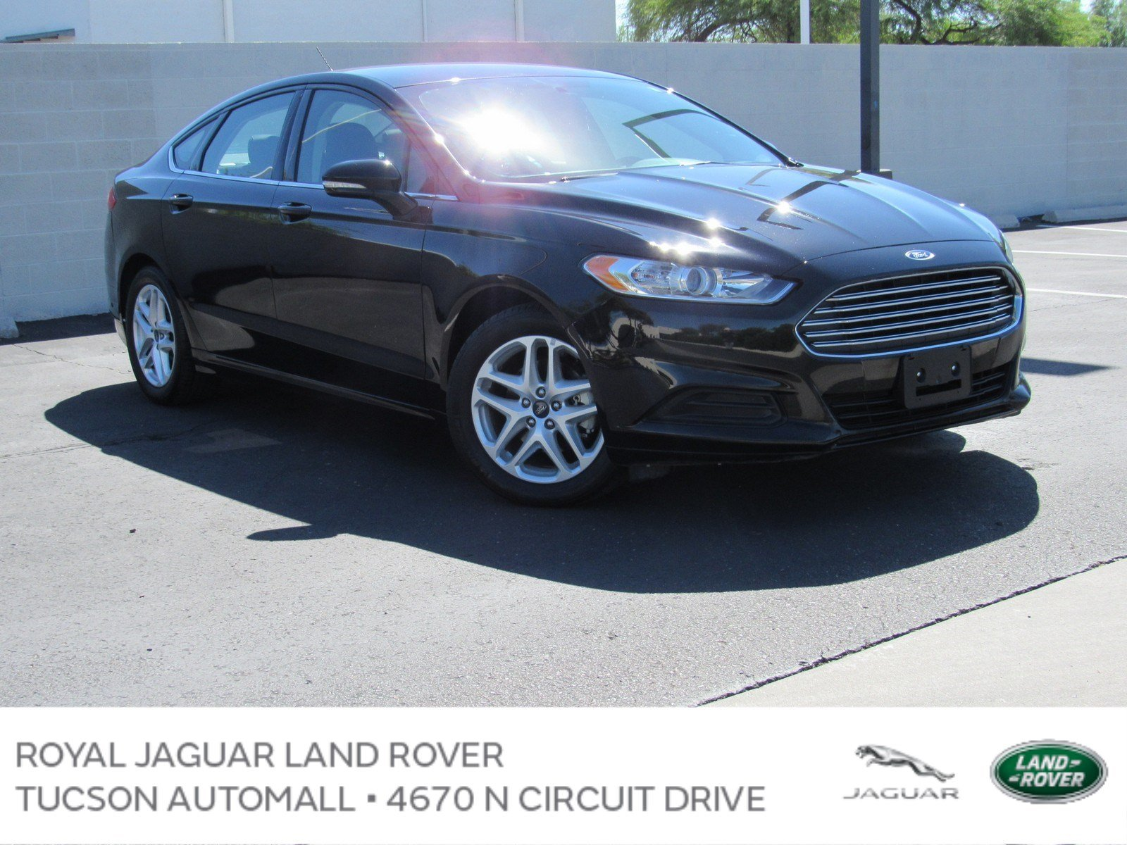 Pre Owned 2016 Ford Fusion SE Sedan in Tucson PD