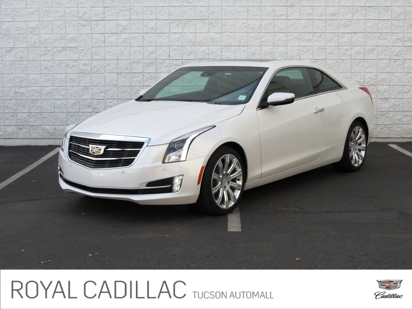 New 2018 Cadillac ATS Coupe Luxury RWD Coupe in Tucson C3778
