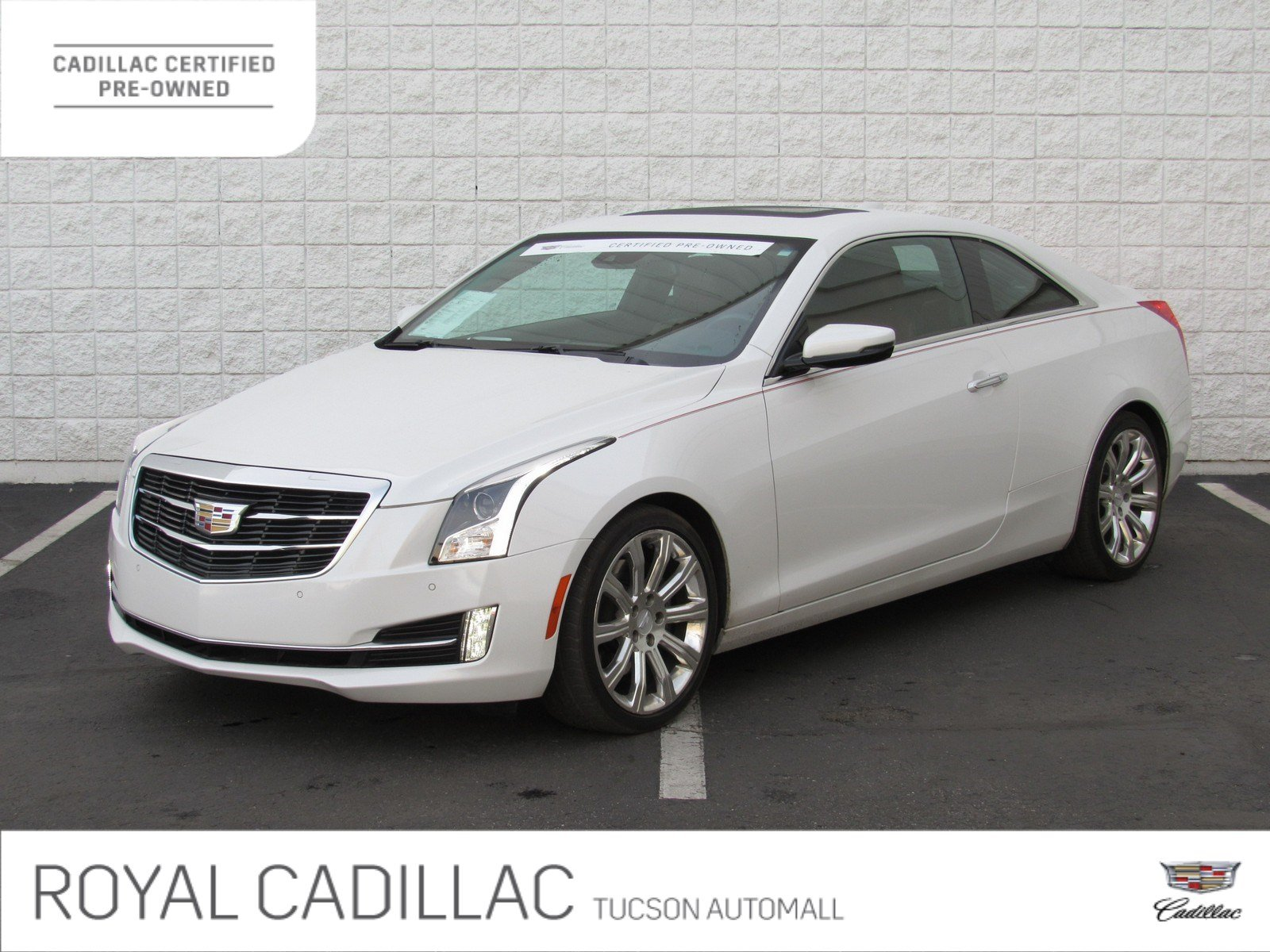 Certified Pre-Owned 2016 Cadillac ATS Coupe Performance Collection RWD