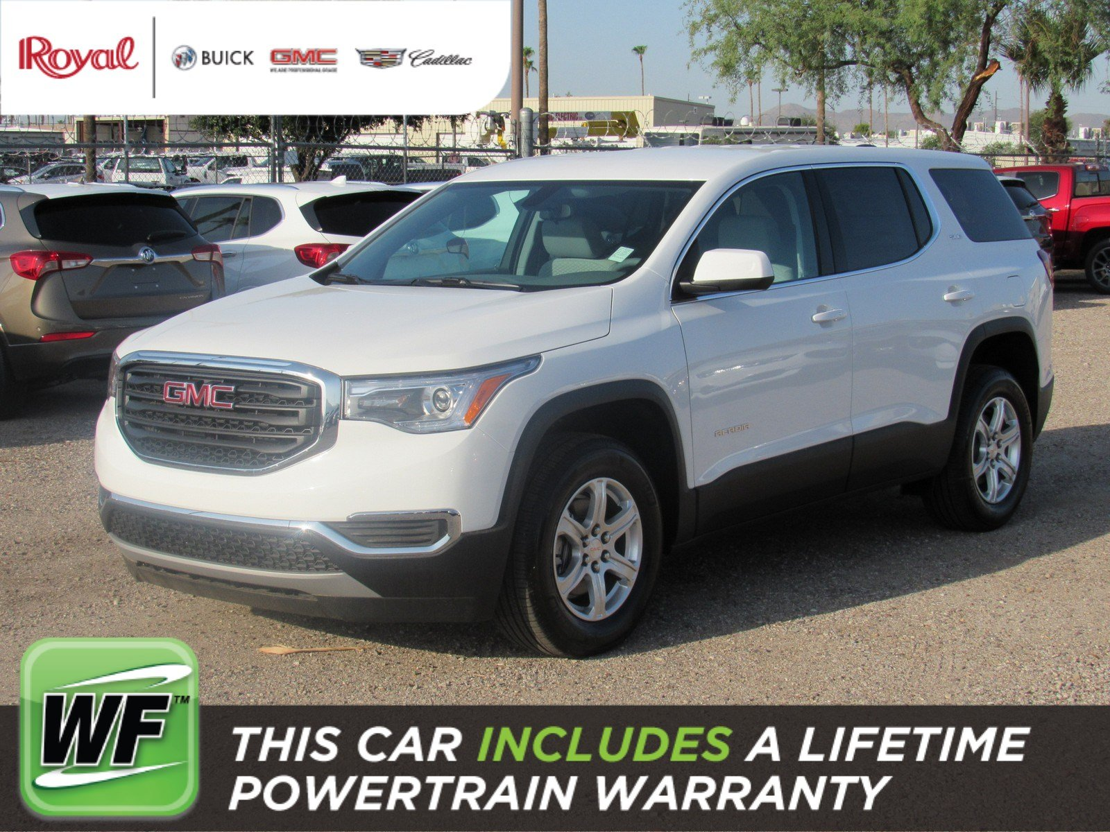 New 2019 GMC Acadia SLE Sport Utility in Tucson G4320
