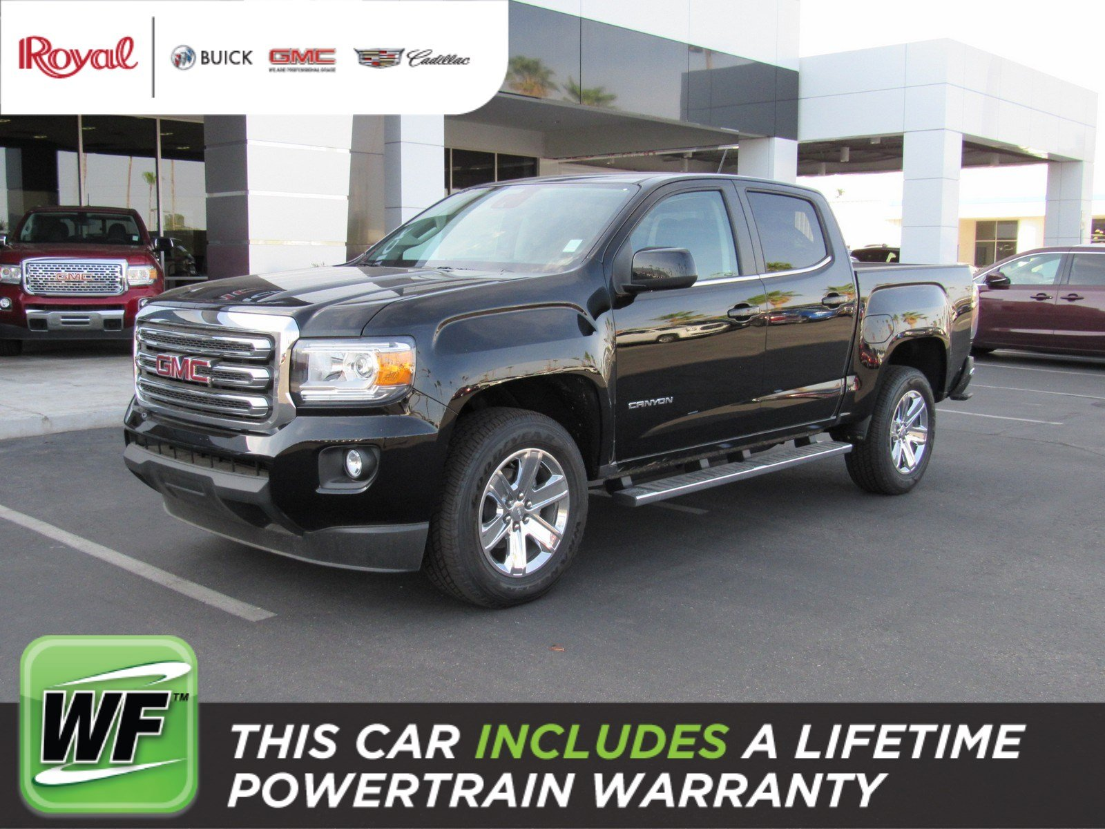 New 2018 GMC Canyon 2WD SLE Crew Cab in Tucson G4183