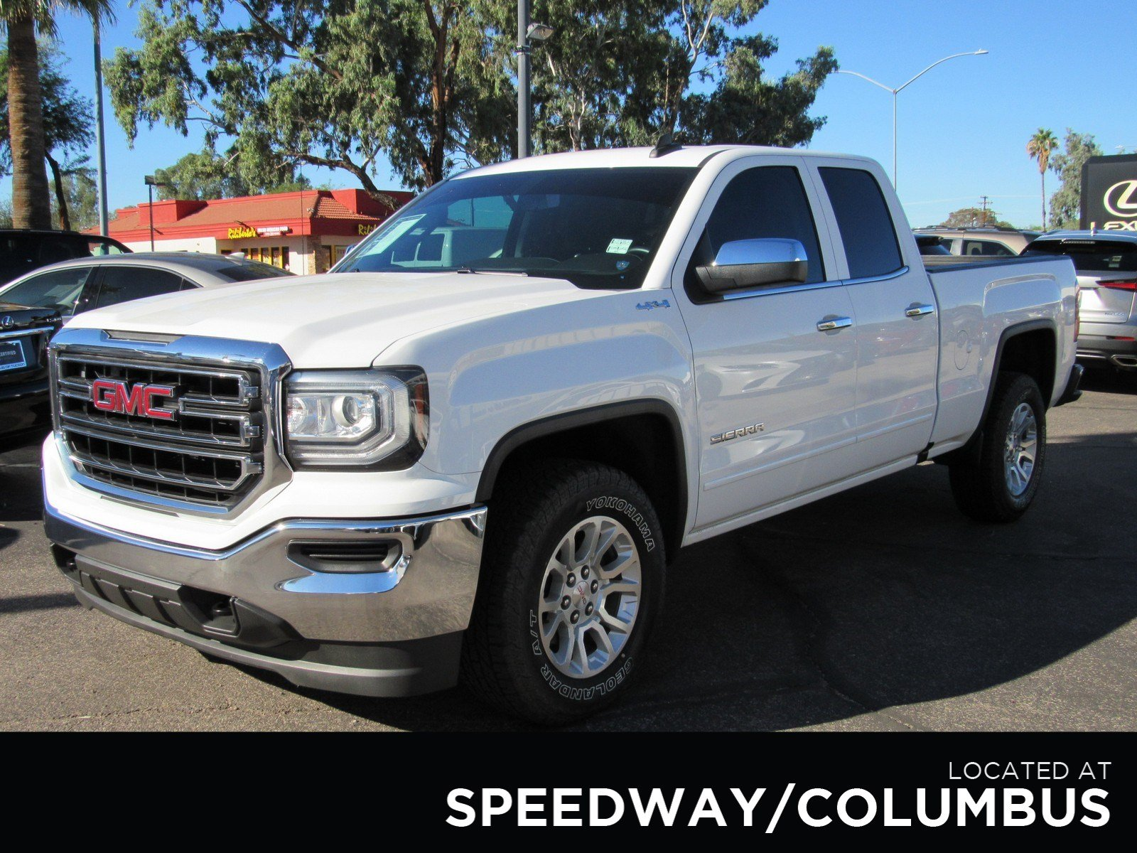 Pre Owned 2016 Gmc Sierra 1500 Sle Extended Cab Pickup In Tucson Dual Battery Kit