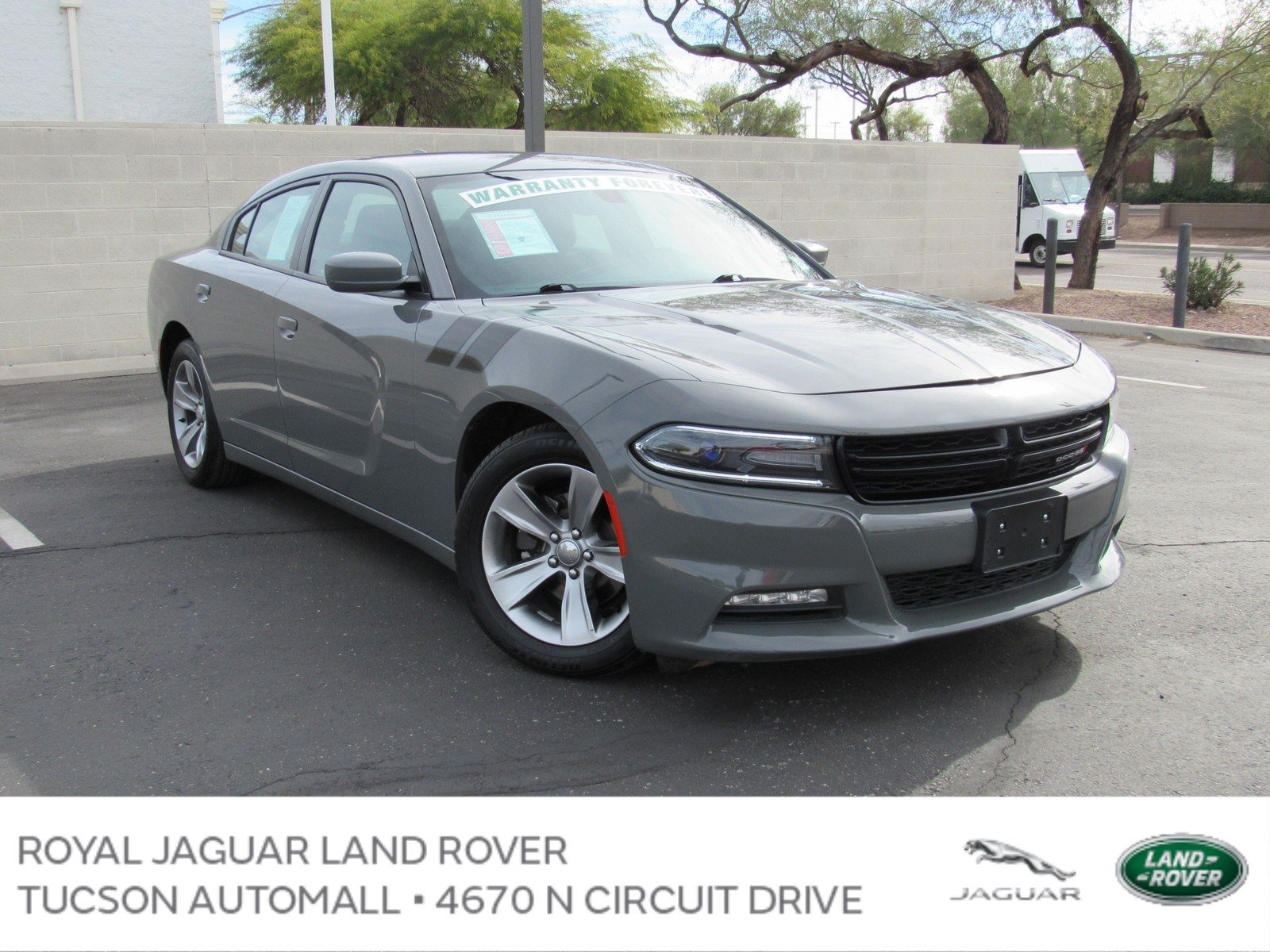 Pre Owned 2017 Dodge Charger SXT Sedan in Tucson PD
