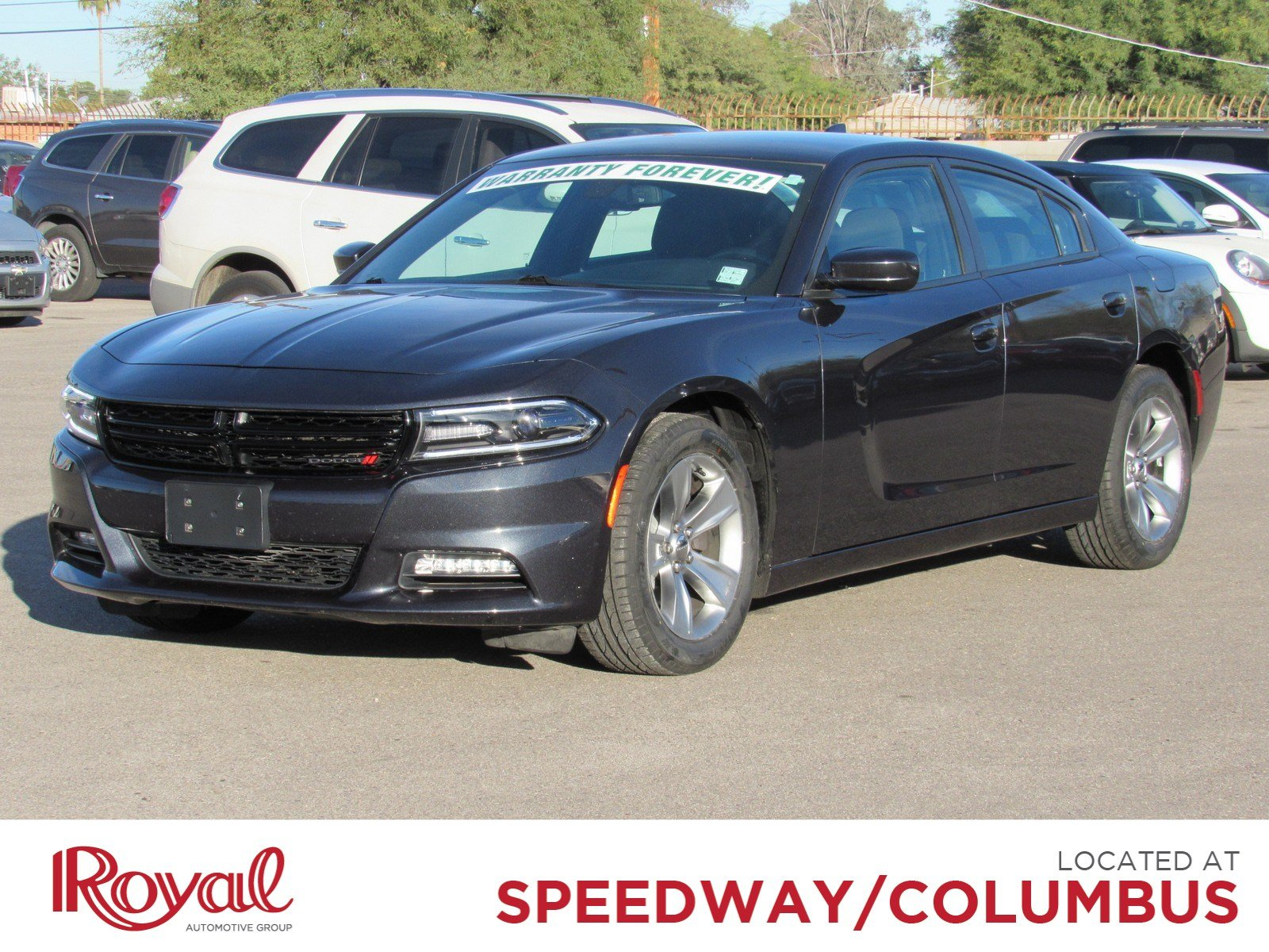 Pre Owned 2017 Dodge Charger Sxt Sedan In Tucson Pd29065 Royal