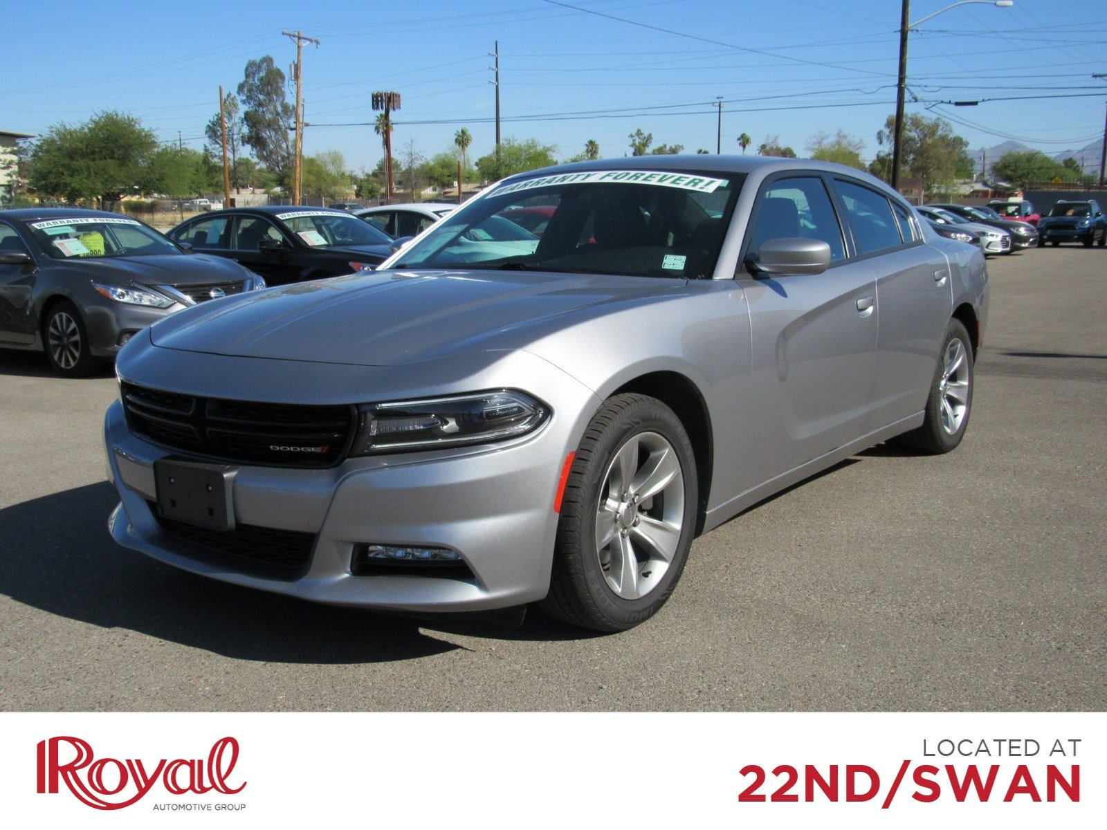 Pre-Owned 2018 Dodge Charger SXT Plus 4dr Car in Tucson #PD29416 | Royal Automotive Group