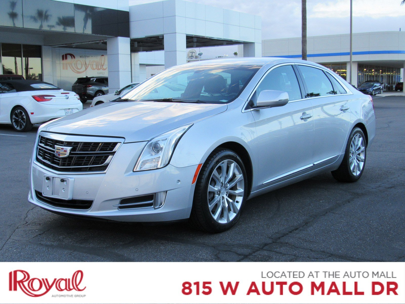 pre-owned 2017 cadillac xts luxury sedan in tucson #pd29110 | royal