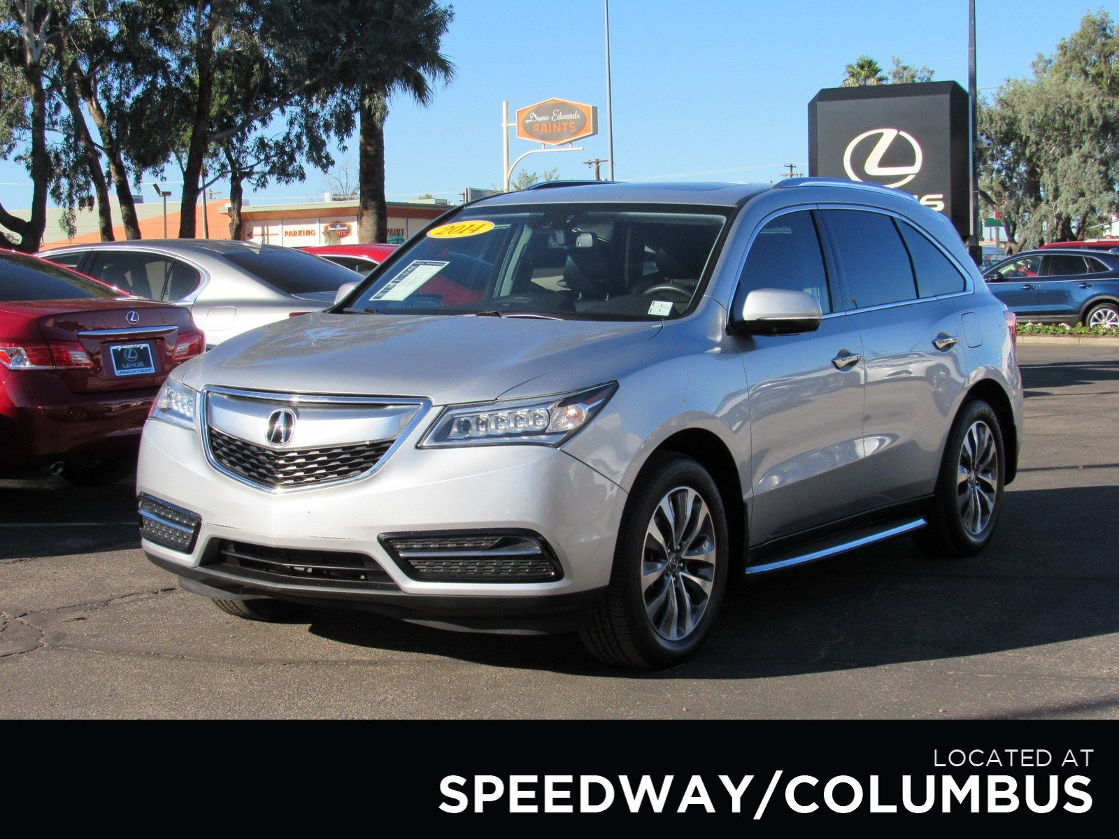 Pre Owned 2014 Acura MDX Tech Pkg Sport Utility in Tucson A