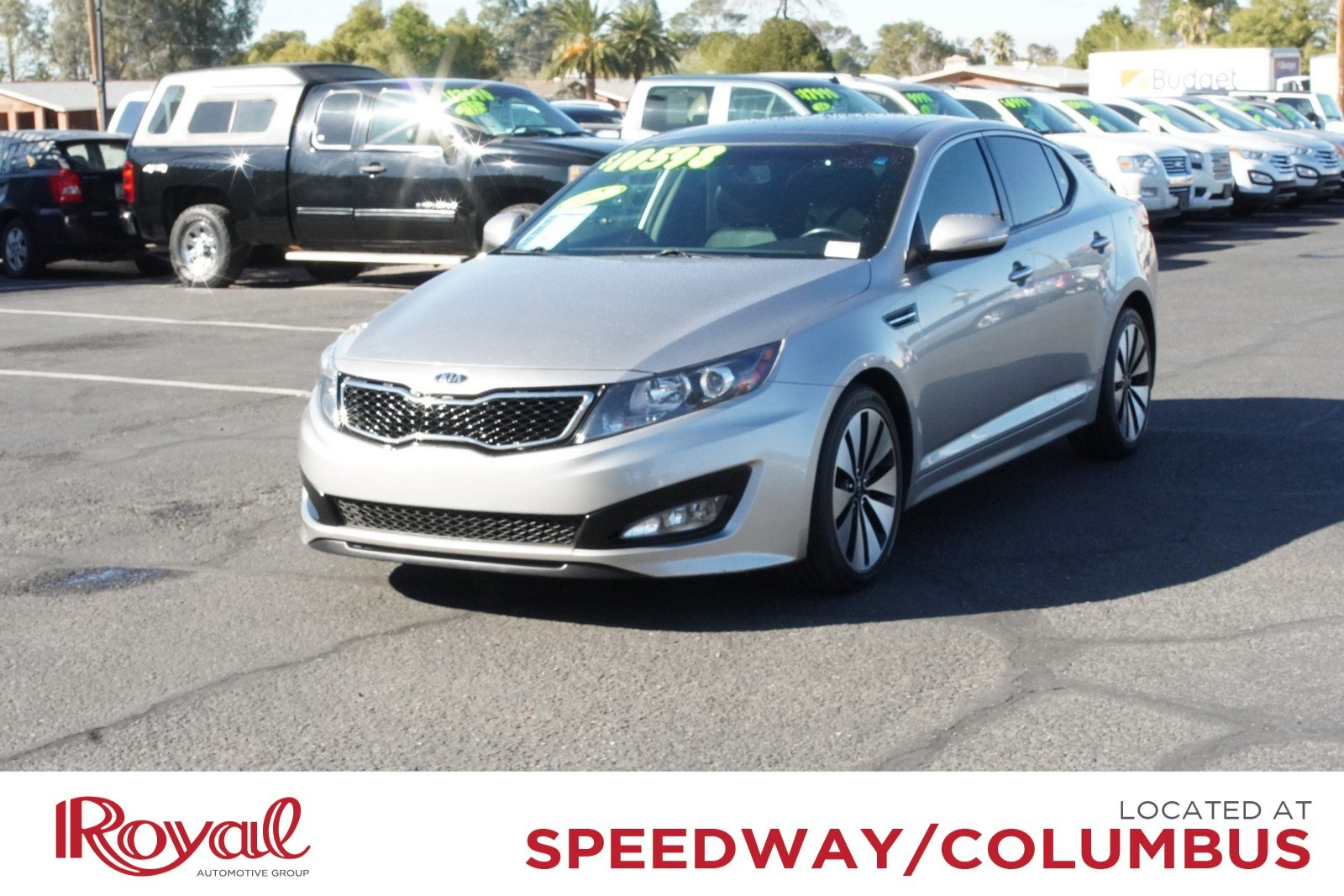 Pre-Owned 2012 Kia Optima SX