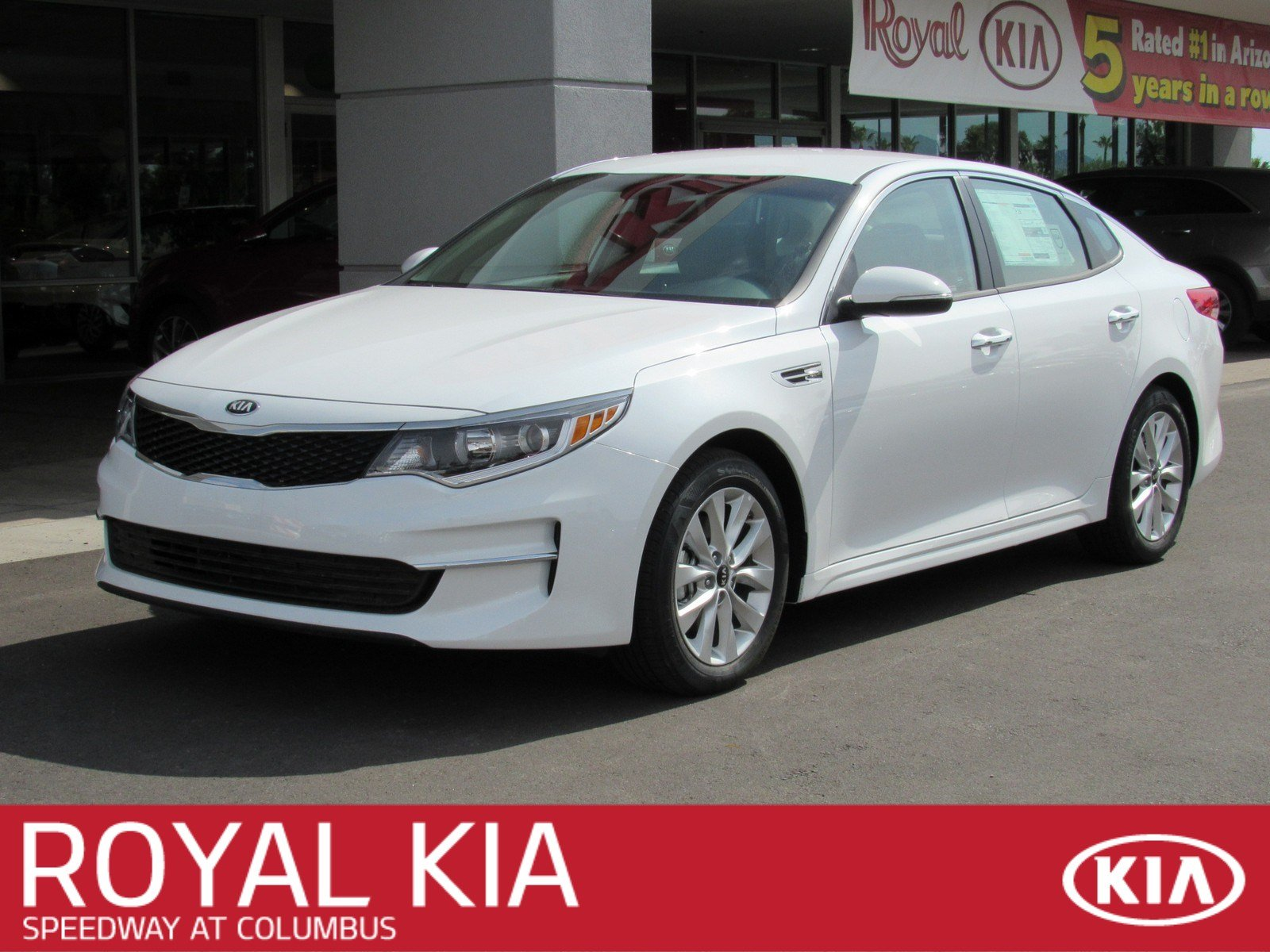New 2018 Kia Optima Lx Sedan In Tucson K22617 Royal Automotive Group