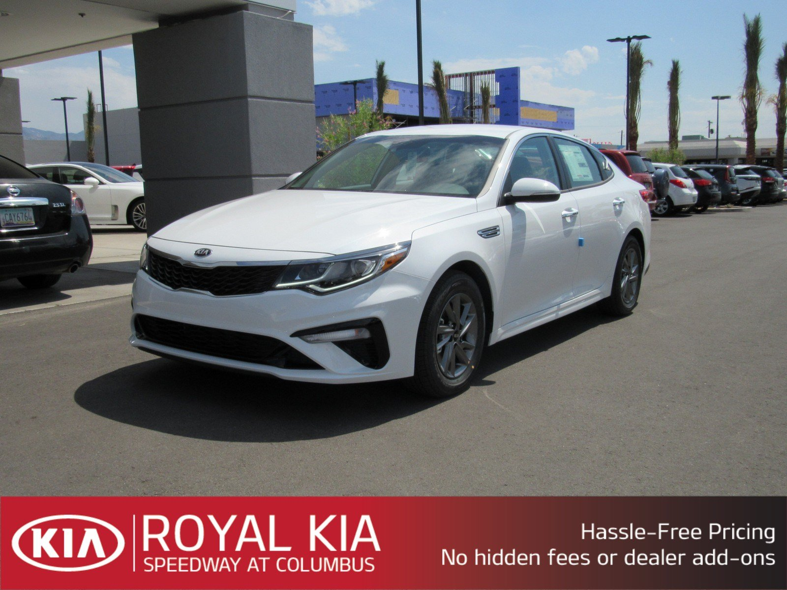New 2019 Kia Optima LX