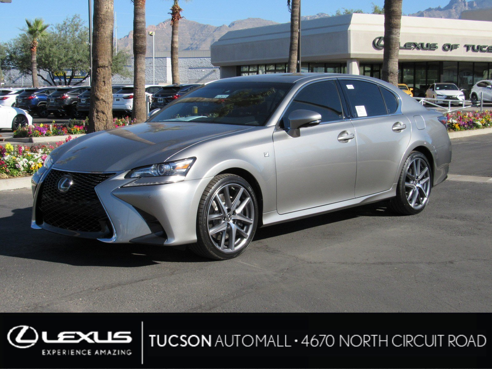 New 2019 Lexus GS GS 350 F SPORT 4dr Car in Tucson A