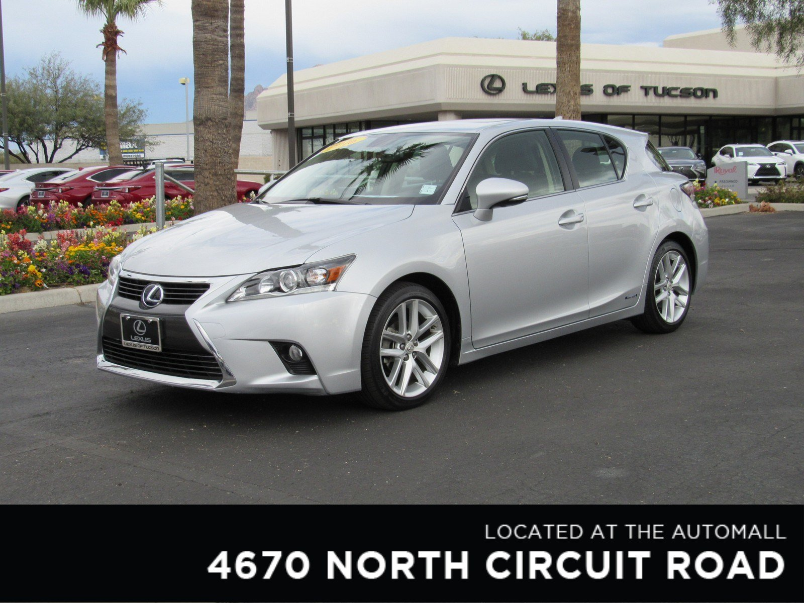 Certified Pre Owned 2016 Lexus Ct 200h Hybrid