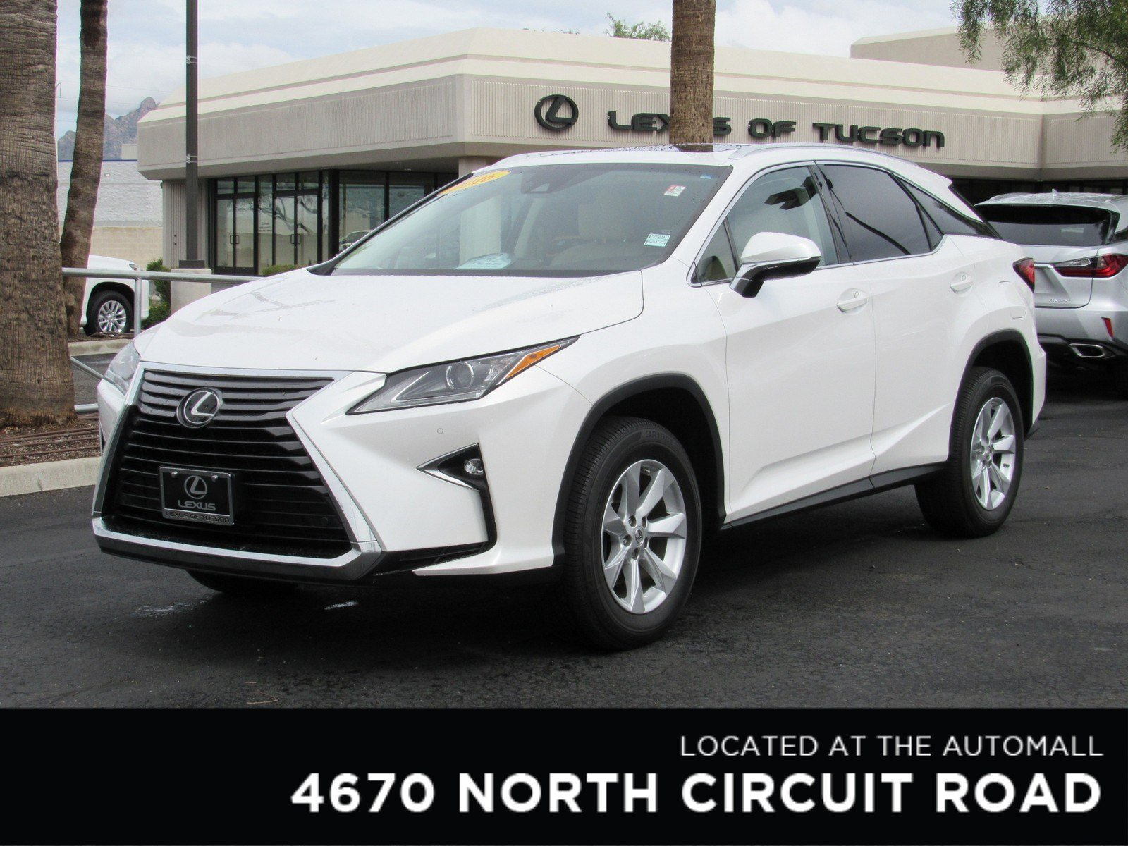 Certified Pre Owned 2016 Lexus RX 350 Sport Utility in Tucson
