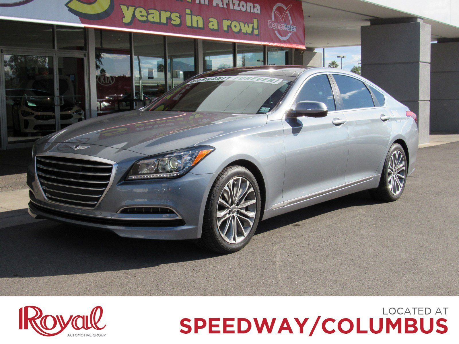 Pre Owned 2015 Hyundai Genesis 3 8L Sedan in Tucson PO