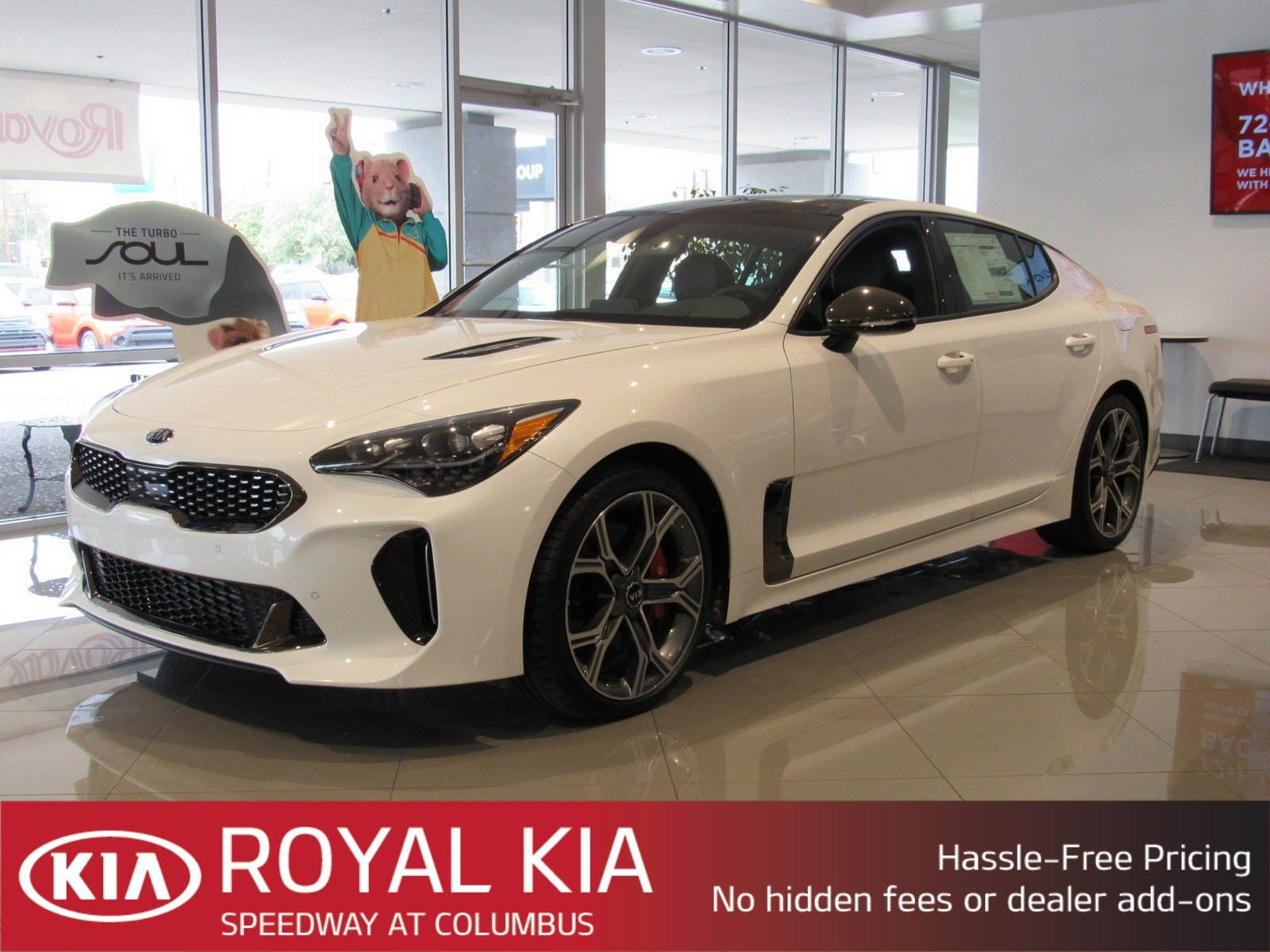 New 2019 Kia Stinger Gt2 Sedan In Tucson K22987 Royal Automotive