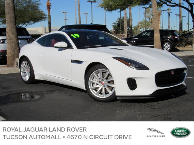 New 2019 Jaguar F Type P340 Coupe In Tucson J2213 Royal