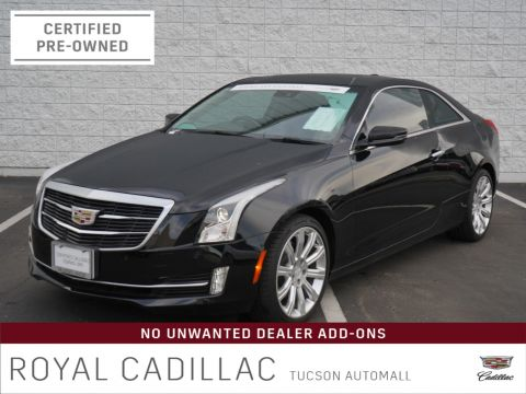 Certified Pre-Owned 2017 Cadillac ATS Coupe Luxury RWD