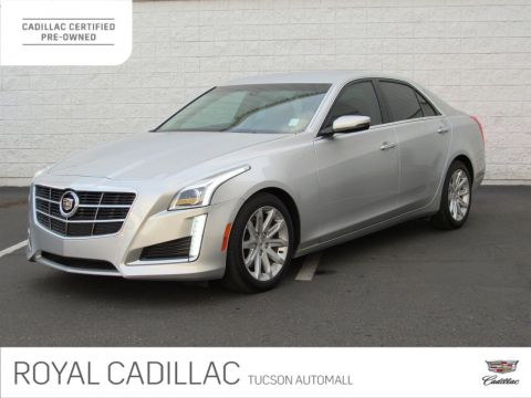 Certified Pre-Owned 2014 Cadillac CTS Sedan RWD